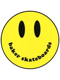 Baker Smiley Sticker