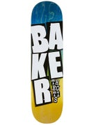 Baker Theotis Stacked Name Deck 8.38 x 32.25