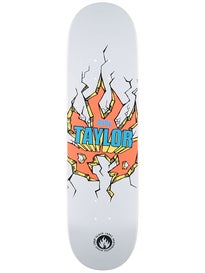 Black Label Taylor Breakout White Deck 8.25 x 32.12