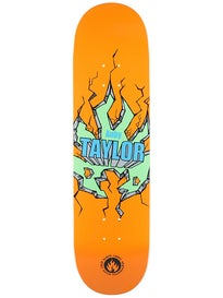 Black Label Taylor Breakout Orange Deck 8.25 x 32.12