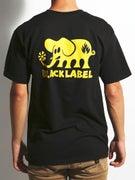 Black Label Classic Elephant T-Shirt