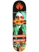 Black Label Hassan Faded Beauty Deck 8.38 x 32.5
