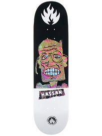 Black Label Hassan Panic Attack Deck 8.38 x 32.5