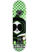 Blind Checkerboard Kenny Neon/Grn Mid Complete 7.3x28.7