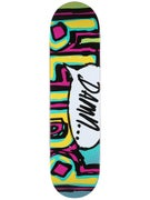 Blind OG Damn Bubble Turq/Pink/Yellow Deck  8.0 x 31.6