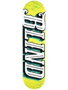 Blind Line Up Green/Yellow Deck  8.0 x 31.6