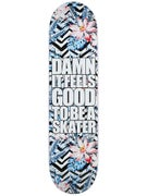 Blind Damn Plantlife Black/White Deck  8.0 x 31.6