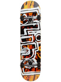 Blind Heady Tie Dye Orange/Blk w/Sft Whls Comp 7.75x31