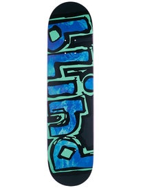 Blind Matte OG Black/Aqua Deck 7.75 x 31.2