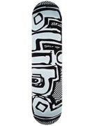 Blind OG Warped Black/White Deck  7.75 x 31.7