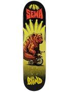 Blind Sewa Bear on a Bike Deck  7.75 x 31.1