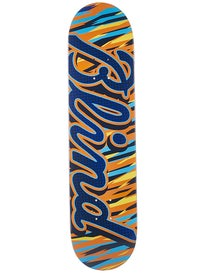 Blind Stripes Blue/Orange Deck  7.75 x 31.2