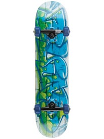 Blind Spray Wall Green/Blue Mini Complete  7.0 x 27.6
