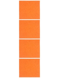 Blood Orange Extra Coarse Grip 4 Sheet Pack Neon Orange