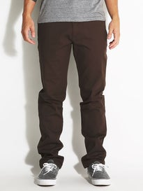 Bohnam Clayton Stretch Chino Pants  Brown