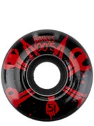 Bones 100's #10 Wheels Black