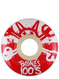 Bones 100s #10 Wheels\ hite