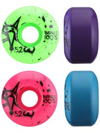 Bones 100s Asst. Colors Wheels