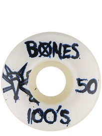 Bones 100s #9 Even Wheels\ hite