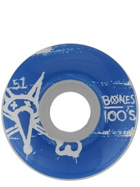 Bones 100s #9 Odd Wheels\ hite