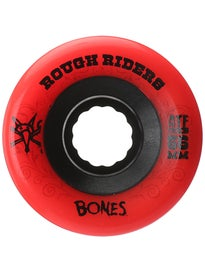 Bones ATF Rough Riders Wheels Red