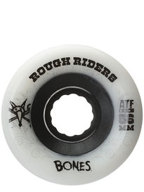 Bones ATF Rough Riders Wheels White