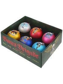 Bones Brigade Holiday Ornament Set  6 Pack