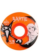 Bones STF Bartie Angel Orange V1 Wheels