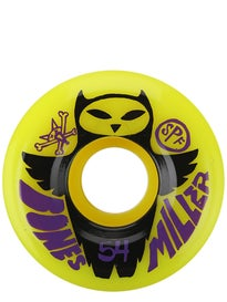 Bones SPF Miller Owl Yellow Wheels