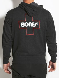 Bones Swiss Outline Hoodzip