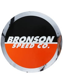 Bronson Speed Co. Spot Logo 12 x 12 Sticker