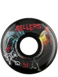 Bones STF Fellers Roost Black V2 Wheels