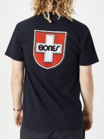 Bones Swiss Shield Pocket T-Shirt