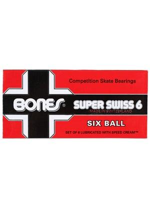 Bones Super Swiss 6 Ball Bearings