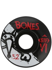 Bones STF V-Series V1 Wheels Black
