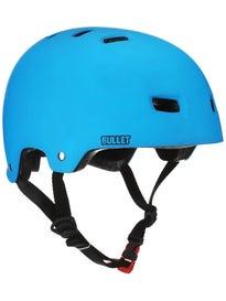 Bullet Deluxe Skateboard Helmet Matte Blue