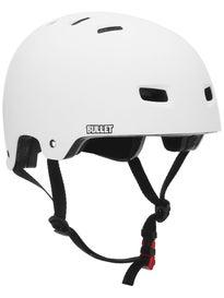 Bullet Deluxe Skateboard Helmet Matte White