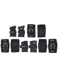 Bullet Junior Safety Set (knee/elbow/wrist) Black