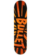 Bullet Shrapnel Orange Deck  7.6 x 31.5