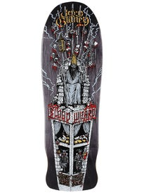Blood Wizard Jerry Gurney Throne Custom Deck 10 x 31.56