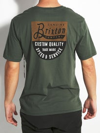 Brixton Badge Premium T-Shirt