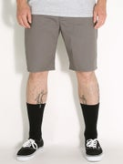 Brixton Carter Shorts  Grey