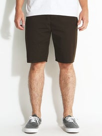 Brixton Carter Shorts  Brown