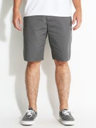 Brixton Carter Shorts  Charcoal