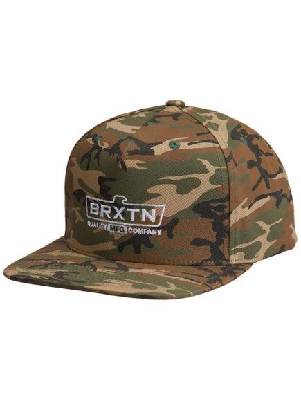 ad2f713165be7 Brixton Cruss Medium Profile Snapback Hat