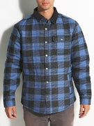 Brixton Cass Jacket  Blue Plaid