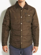 Brixton Cass Jacket  Olive/Brown