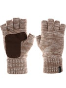 Brixton Cutter Fingerless Gloves  Oatmeal