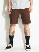 Brixton Carter Shorts  Taupe