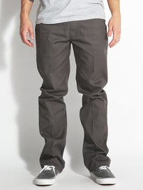 Brixton Fleet Rigid Chino Pants Charcoal